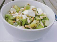 Feta Kiwi Salat / salad with kiwi and feta Kiwi, Feta, Different Salads, Potato Salad, Potatoes, Ethnic Recipes, Cooking, Recipies, Potato