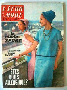 L'echo de la mode n° 25 année 1962