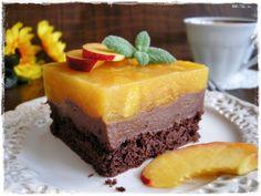 Kakaowo-czekoladowa brzoskwinka. Wspaniały dodatek do porannej kawy!