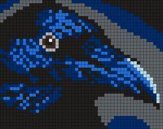 Raven (50 X 40 Square Grid Pattern)