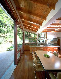 Modern Dining Room By Griffin Enright Architects Katie Craig House Ideas Outside