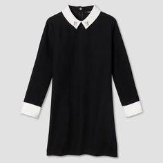 Girls' Black Collared Dress - Victoria Beckham for Target : Target