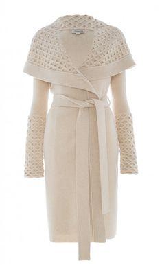 Long Honeycomb Jacket