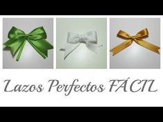 3 Trucos para hacer Lazos Perfectos | Perfect Bows | Mundo@Party - YouTube