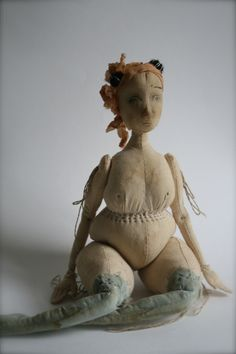 The Pale Rook - Dinah calico art doll
