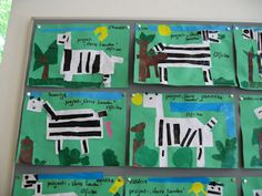 Landen platte vlak knutselen – Juf Sanne Animals Black And White, Boyfriend Crafts, Safari Theme, Mermaid Blanket, Lemur, Valentine's Day Diy, Zoo Animals, Zebras, Baby Blanket Crochet