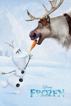 FROZEN!!! I just love Olaf!