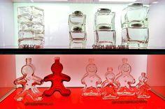 Nadia Mikushova.Italian glass at CIBUS pavilion of EXPO Milano 2015.