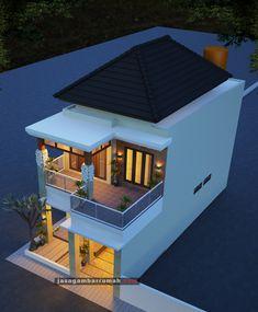 Single Floor House Design, Modern Small House Design, Home Design Floor Plans, Minimalist House Design, Tiny House Exterior, Modern Exterior House Designs, 3 Storey House Design, Bungalow House Design, Indian Home Design