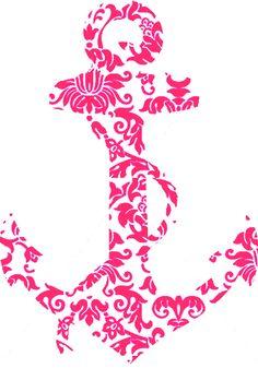 Pink Design Anchor