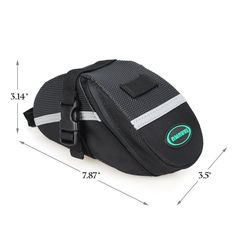 ★ SPEED, COMPACT & CAPACIOUS: The TARUMU Premium outdoor seat saddle bag with special aerodynamic shape design in minimum air-resistance to constantly strengthen and keep you enjoying high speed cycling experience, made out of rugged 1680-denier cordura material, equipped with nylon buckle straps, measures 3.14 in. x 7.87 in. x 3.5 in., weight only in Approx 150g   ★ PERFECT FITS: Perfect size for all your essential items with mesh pocket and key clip