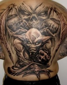 Paul Booth Demon Tattoos