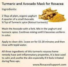 Rosacea Turmeric Mask