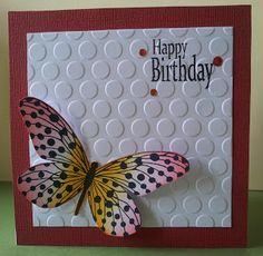 Another butterfly card I like...