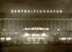 1954, Flughafen Tempelhof