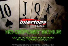 No Deposit Intertops Poker Bonus