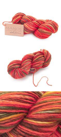 Manos del Uruguay Wool Classica Yarn (Cornucopia). Click: http://www.craftsy.com/ext/20121026_YarnPin2