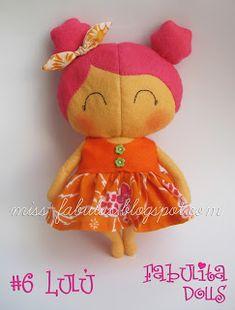 """Fabulita Dolls muñecas hechas a mano con el patrón del maravilloso libro """"Tilda's box toys"""" de Tone Finnange TILDA SWEETHEART Edición numerada #6 LULÚ  CONTACTO: carmenmissfabulas@gmail.com"""