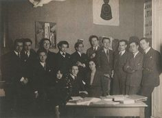 Members of the Bureau central de recherches surréalistes, 1924