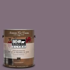 BEHR Premium Plus Ultra 1 gal. Sandstorm Matte Interior Paint and Primer in One