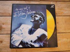 The very best of Elton John LASERDISC PAL LD EX cover EX 1990 original