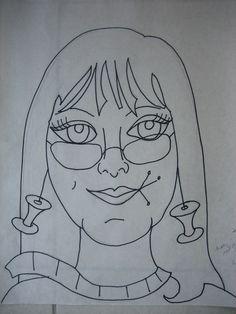 https://flic.kr/p/b4LGUe | #18 - Mary | The drawing