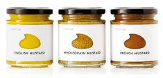 Beautiful Mustard Jars with Die-Cut Labels | Serious Eats
