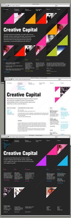 "very errelevant but ""aaa - Creative capital? like its a capital of its own...? - global idea"