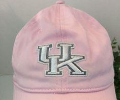 7.91$  Buy now - http://vivdl.justgood.pw/vig/item.php?t=sb5nxa032471 - University of Kentucky NCAA Women's s pink hat Adjustable Strap. Slight discoloration on sweat band.