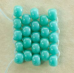 odd count peyote stitch