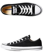 CONVERSE+MENS+CHUCK+TAYLOR+ALL+STAR+LO+SHOE+-+BLACK+on+http://www.surfstitch.com