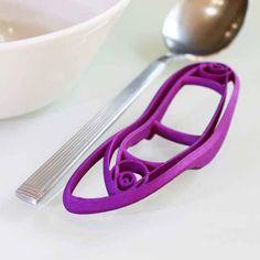 3D printed eating utensil holder.