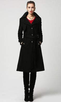 Warehouse Longline Military Coat | Women's Cold-Weather Clothing ...