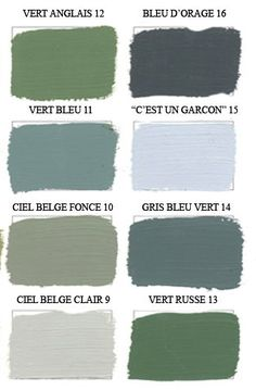 Resultado de imagen de couleurs emery