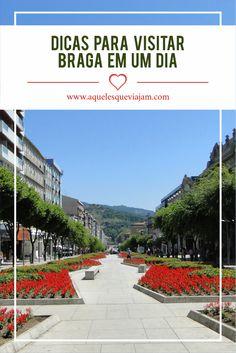 Aproveite as 24 horas ou menso apra visitar Braga. Uma cidade super charmosa no norte de Portugal #portugal