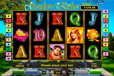 Garden of Riches is a video slot from Novomatic, with 5 reels and 10 paylines. A woman image means 2 symbols – Wild symbol and Scatter symbol. It can replace the other symbols and start a bonus game, which includes free spins Filling the screen with Wild symbols during the bonus game free spins you can get a jackpot.