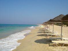 beautiful beach - Naxos Greece