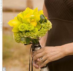 Summer Bridesmaid Bouquet: Yellow & Green    large_image.jpg (310×300)