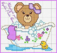 Discover recipes, home ideas, style inspiration and other ideas to try. Baby Cross Stitch Patterns, Cross Stitch For Kids, Cross Stitch Baby, Cross Stitch Animals, Cross Stitch Kits, Doily Patterns, Dress Patterns, Animal Quotes, Funny Art
