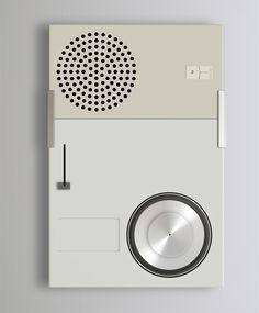 I will attempt with this essay to explain why I believe that industrial designer Dieter Rams deserves to be considered the most important product engineer and design theorist in our … Vintage Design, Retro Design, Bauhaus, Dieter Rams Design, Braun Dieter Rams, Simple Designs, Cool Designs, Ui Buttons, Id Design