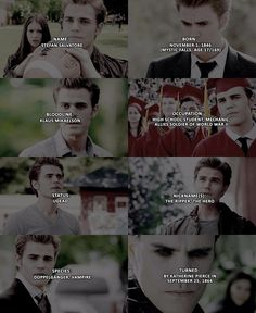 + {Stefan Salvatore} I've been so busy I didn't have time to edit new edits so…