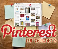 Pnterest for teachers.