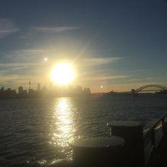 #sydney #sydneyharbourbridge #australia #skyline #sunset by ktbubblez http://ift.tt/1NRMbNv