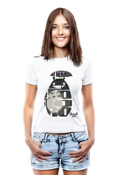 Tonari no Totoro Inspired Custom Totoro T-Shirt