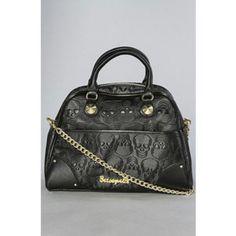 Skulls purse