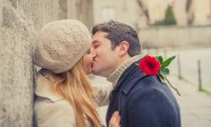 Just go for it ! *Don't Resist the Kiss. Here's why ~>  French Kisses Give 80 Million Healthy Bacteria