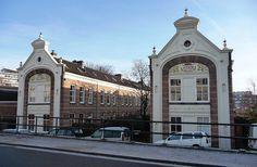 Dordrecht, Netherlands - Hallincqhof -art nouveau style by yellow book, via Flickr