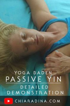 Why Passive Yin? This video shows the benefits and bhava of the work: deep, quiet myofascial work that respects the variations in movement that individual bony compressions demand in order to dive deeper, stretching the fascia, making it more resilient and springy for better results, greater ranges of movement and that super fast reaction time we all love and desire. All you need is the willingness to be still, feel and breathe! #bodywork #passiveyinyoga #chiaradina #fascia