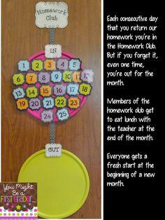Homework Club...new idea to try?