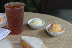 The Masters Egg Salad | The Masters Pimento Cheese Sandwich |